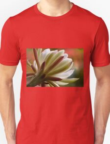 Peruvian apple cactus flower- other side Unisex T-Shirt