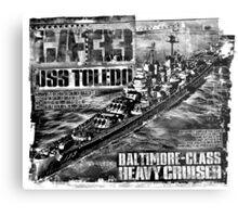 Heavy cruiser Toledo Metal Print