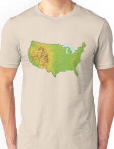 Physical United States of America Unisex T-Shirt