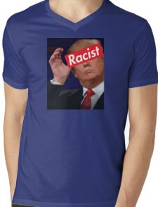 donald trump racist Mens V-Neck T-Shirt
