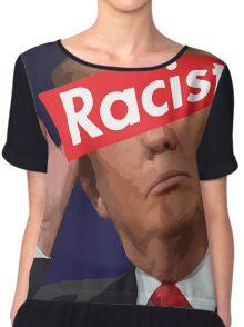 donald trump racist Chiffon Top