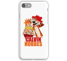 Calvin and Hobbes Time iPhone Case/Skin