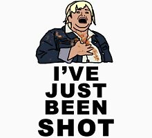 IVE JUST BEEN SHOT - Fat Amy Men's Baseball ¾ T-Shirt