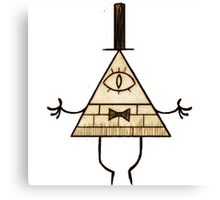Bill Cipher - Gravity Falls Canvas Print