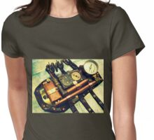 Steampunk Gauntlet 2.0 Womens Fitted T-Shirt