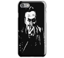 booth on black iPhone Case/Skin