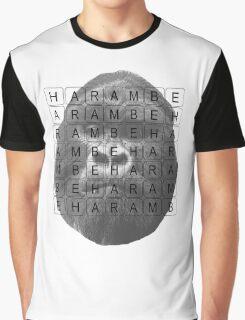 Harambe Memorial Graphic T-Shirt