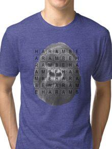 Harambe Memorial Tri-blend T-Shirt