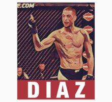 UFC 202 Diaz RED Baby Tee