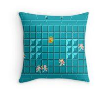 Legend of Zelda Dungeon  Throw Pillow