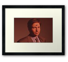 Mulder third eye  Framed Print
