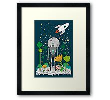 The Keeper Framed Print