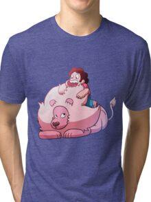 Steven and Lion Tri-blend T-Shirt
