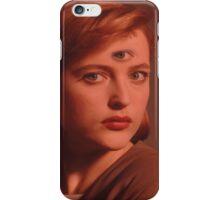 Scully Third Eye iPhone Case/Skin