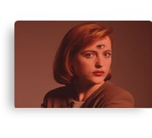 Scully Third Eye Canvas Print