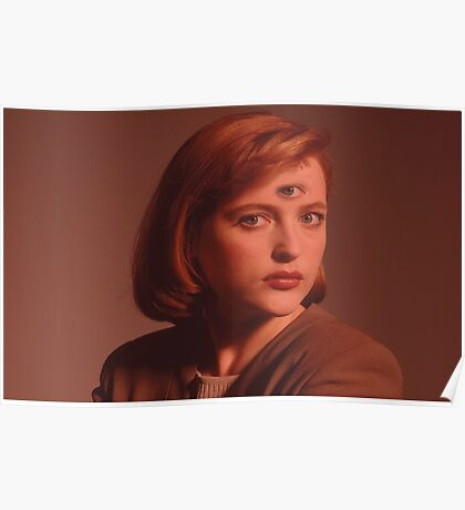 Scully Third Eye Poster