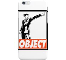Phoenix Wright Object Obey Design iPhone Case/Skin