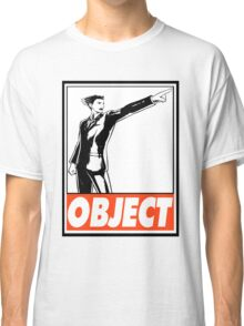 Phoenix Wright Object Obey Design Classic T-Shirt