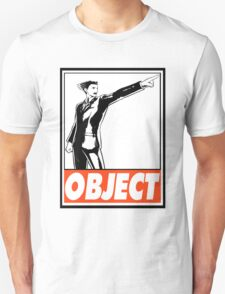 Phoenix Wright Object Obey Design T-Shirt