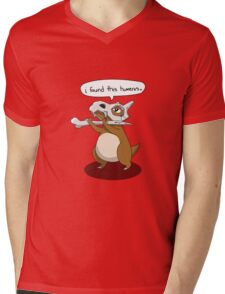 I found This Humerus Mens V-Neck T-Shirt