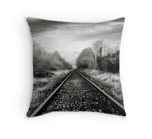 Abandoned Railway, Co Westmeath, Ireland Throw Pillow