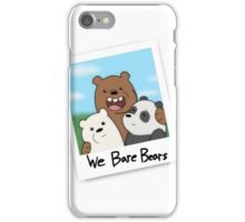 Bear Brothers Selfie iPhone Case/Skin