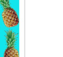 Gamma Pineapple Letter Sticker