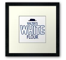 Sausage Party - Walter's White Flour Framed Print