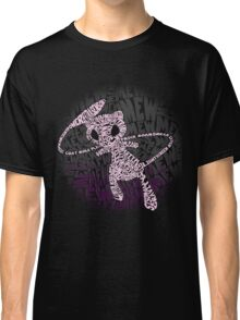 POKEMON MEW made out of its moves! Classic T-Shirt