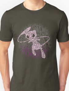 POKEMON MEW made out of its moves! Unisex T-Shirt