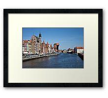 Gdansk ( Danzig ) - Poland   Framed Print