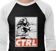 Phoenix Control Obey Design Men's Baseball ¾ T-Shirt