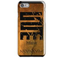 Nkyinkyim  West African Adinkra Symbol  iPhone Case/Skin