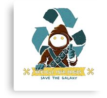 RECYCLE YOUR DROIDS ULTIMATE ! Canvas Print