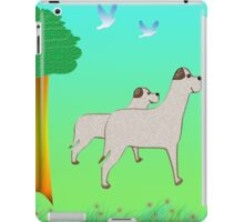 Mommy dog and Sonny iPad Case/Skin