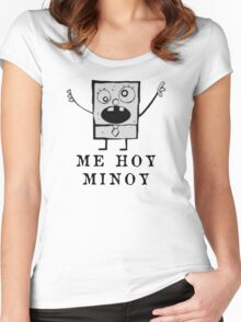 Doodle Bob Women's Fitted Scoop T-Shirt