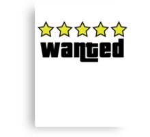 Wanted (GTA V) Canvas Print
