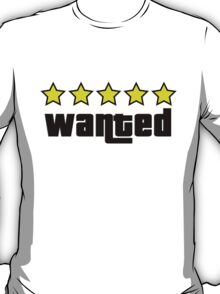 Wanted (GTA V) T-Shirt