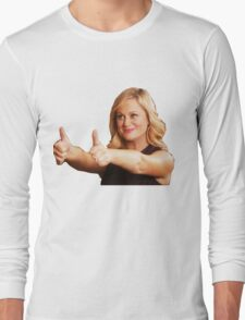 Leslie Knope -Thumb's Up Long Sleeve T-Shirt