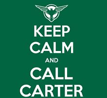 Call Carter! Womens Fitted T-Shirt