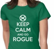 Go Rogue Womens Fitted T-Shirt