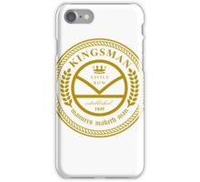 Kingsman the tailors  iPhone Case/Skin