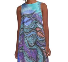 Ladder Dragon of the Soul Star A-Line Dress