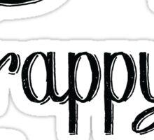Hamilton: Young Scrappy & Hungry Sticker