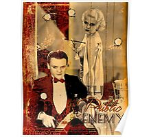 The Public Enemy and Jean Harlow Poster