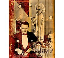 The Public Enemy and Jean Harlow Photographic Print