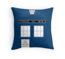 TARDIS Duvet & etc Throw Pillow