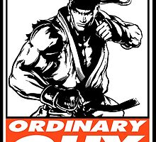 Ryu Ordinary Guy Obey Design by SquallAndSeifer