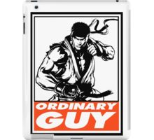 Ryu Ordinary Guy Obey Design iPad Case/Skin