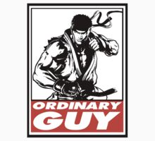 Ryu Ordinary Guy Obey Design One Piece - Short Sleeve